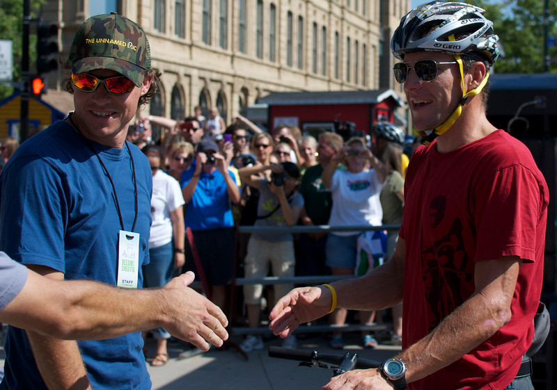 Lance Armstrong and Jack Hirt